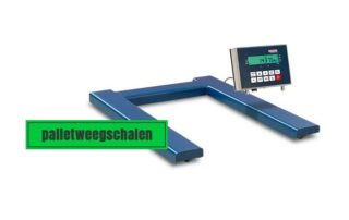 Palletweegschalen-magazijn