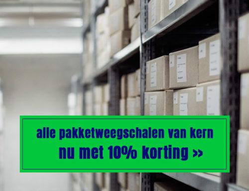 10% Korting op alle Kern pakketweegschalen | Logistiek