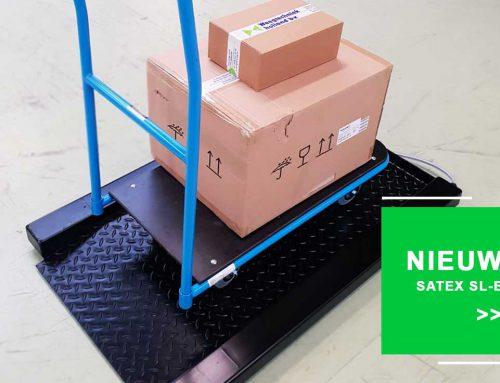 Nieuw in onze collectie: de Satex SL-E weegschaal voor trolleys, containers en deense karren
