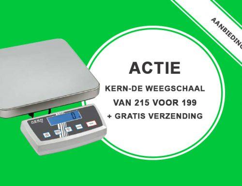 Aanbieding weegschaal: Kern-DE platformweegschaal met gratis verzending
