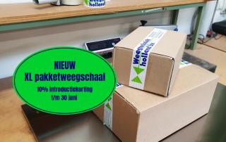 Pakketweegschaal-webshop