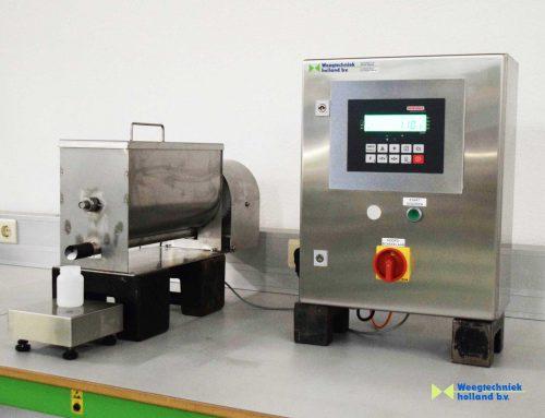 Weegschalen maatwerk: doseer-installatie voor diverse hoeveelheden